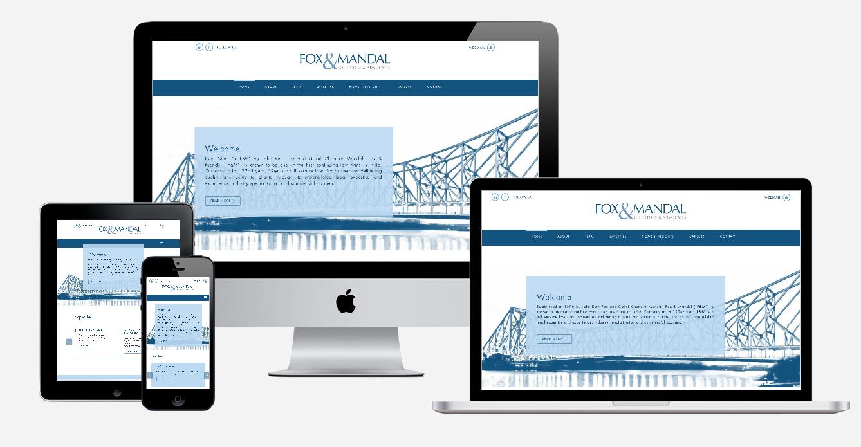 Fox & Mandal - Website