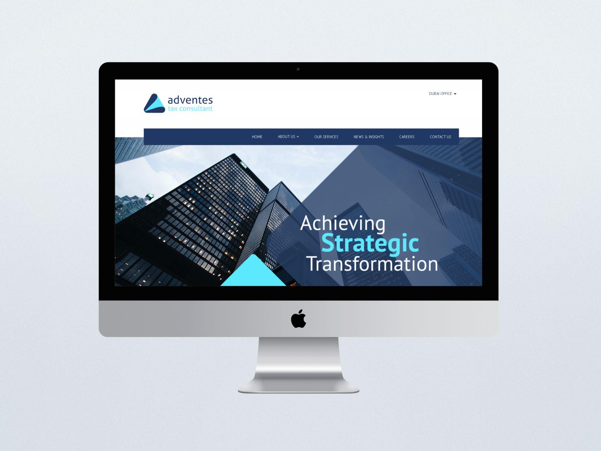 Adventes Tax Consultant - Website