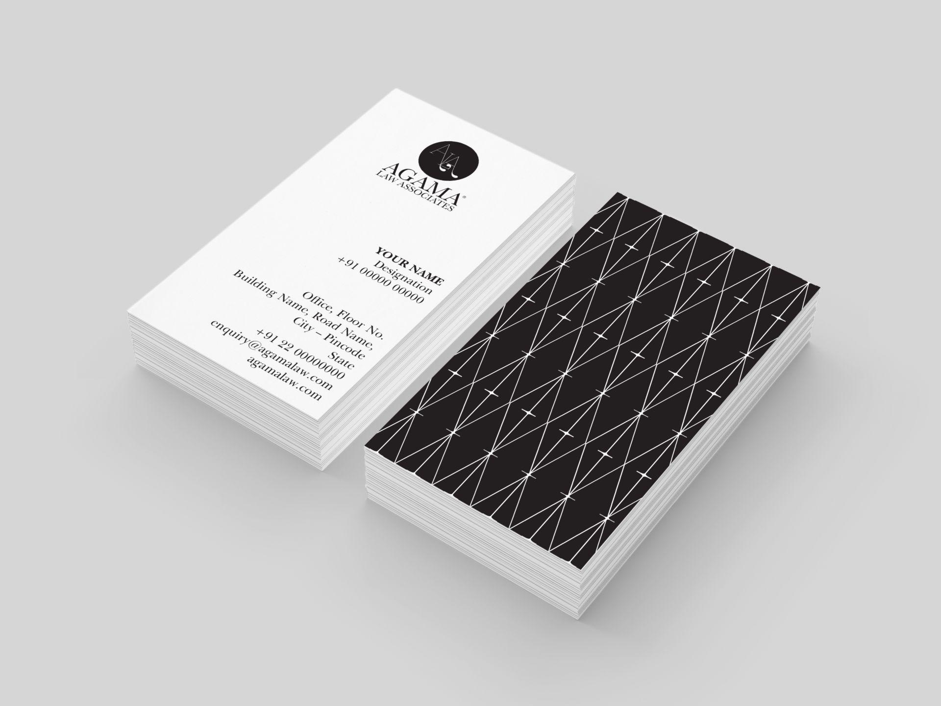 Agama Law Associates - Business Cards