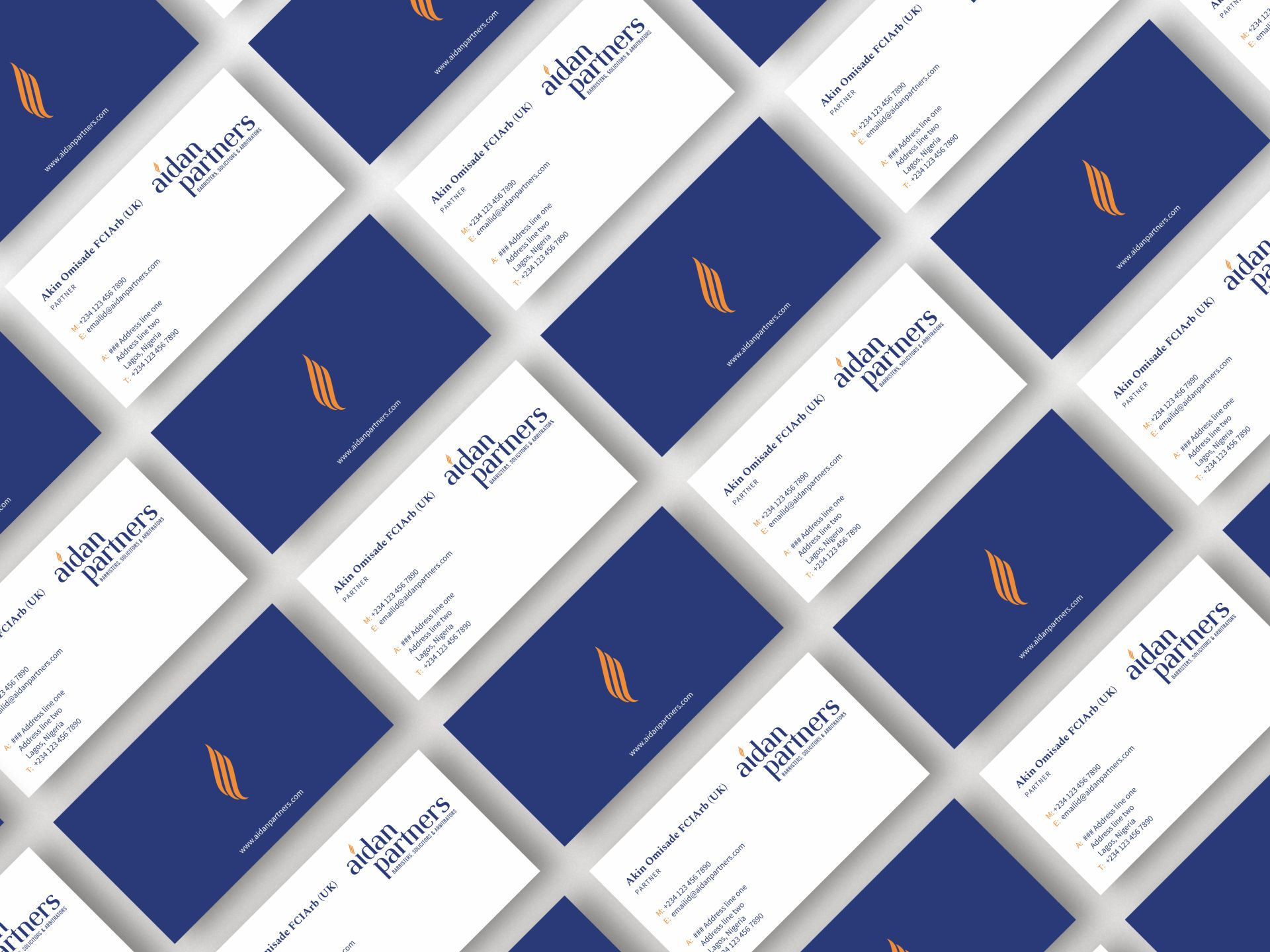 Aidan Partners - Business Cards