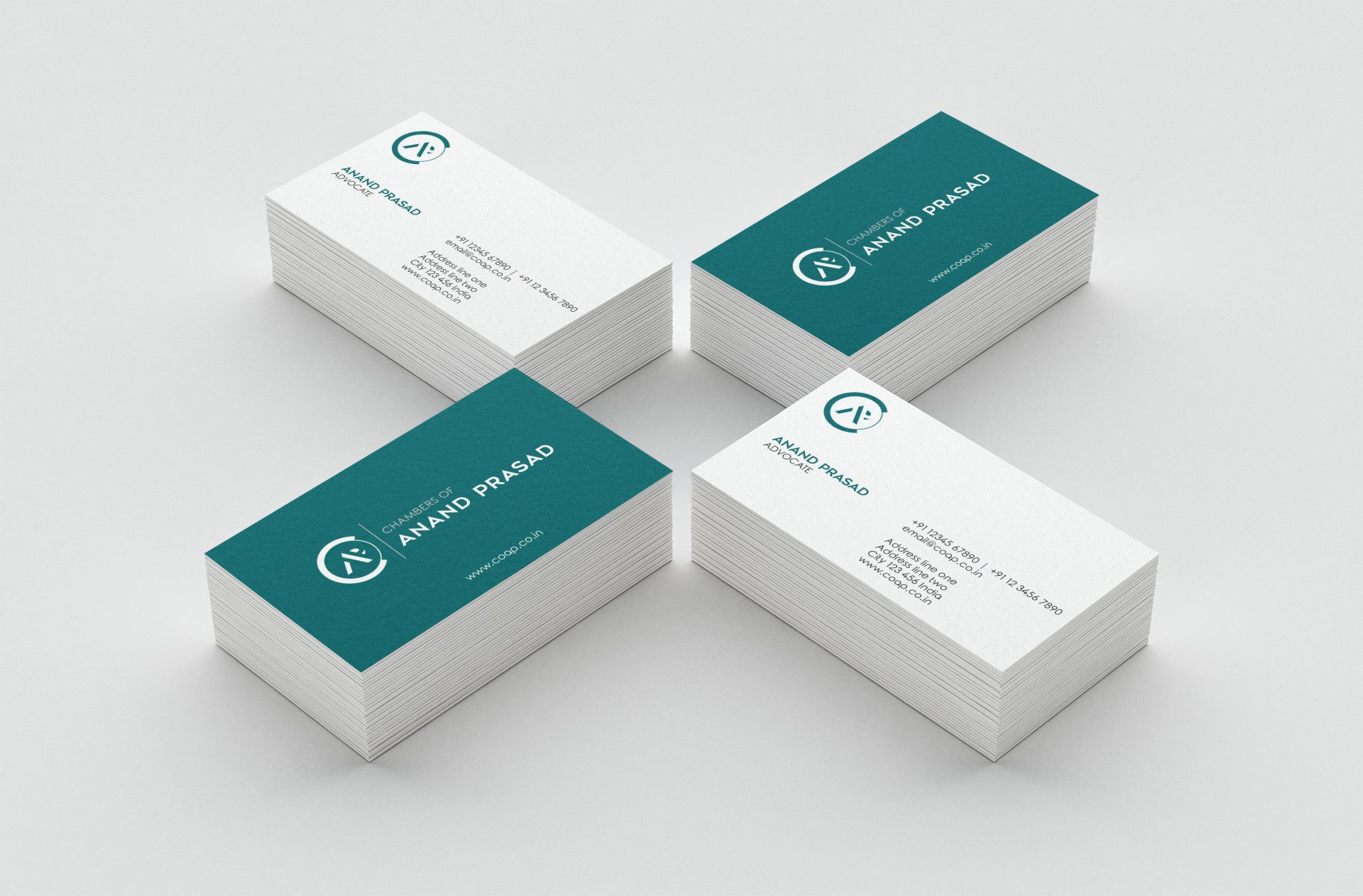 Chambers of Anand Prasad - Business Cards