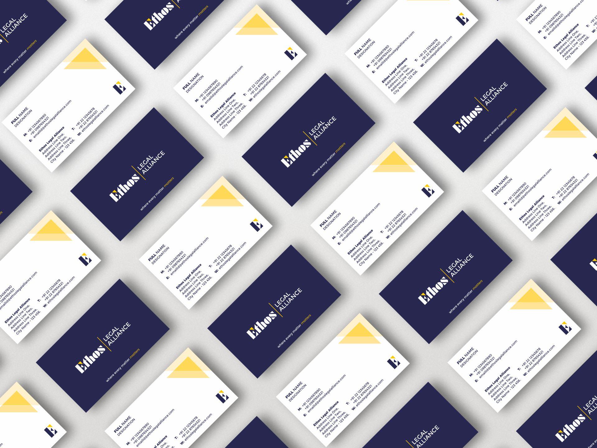 Ethos Legal Alliance - Business Cards