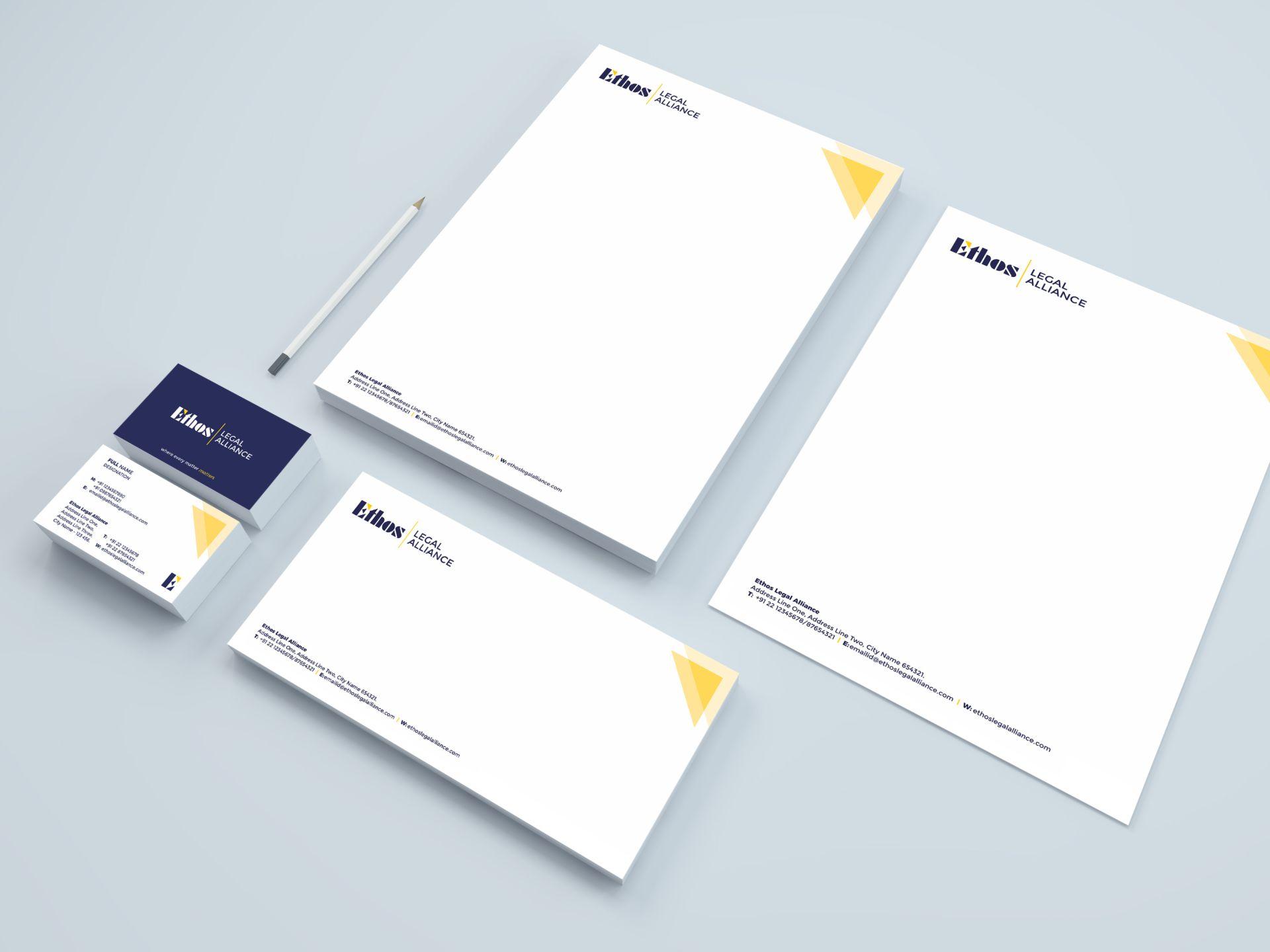 Ethos Legal Alliance - Stationery