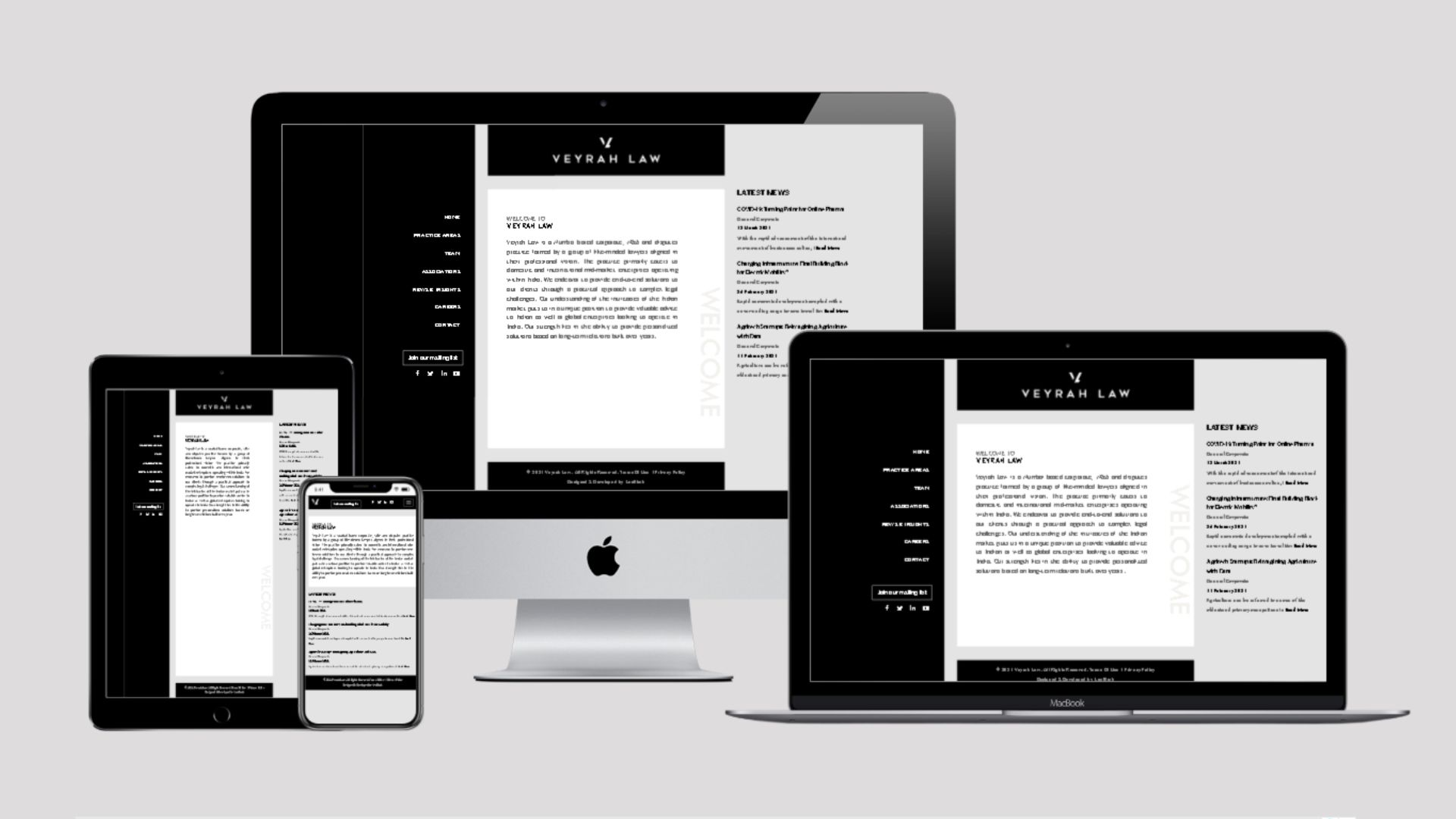 Veyrah Law - Website