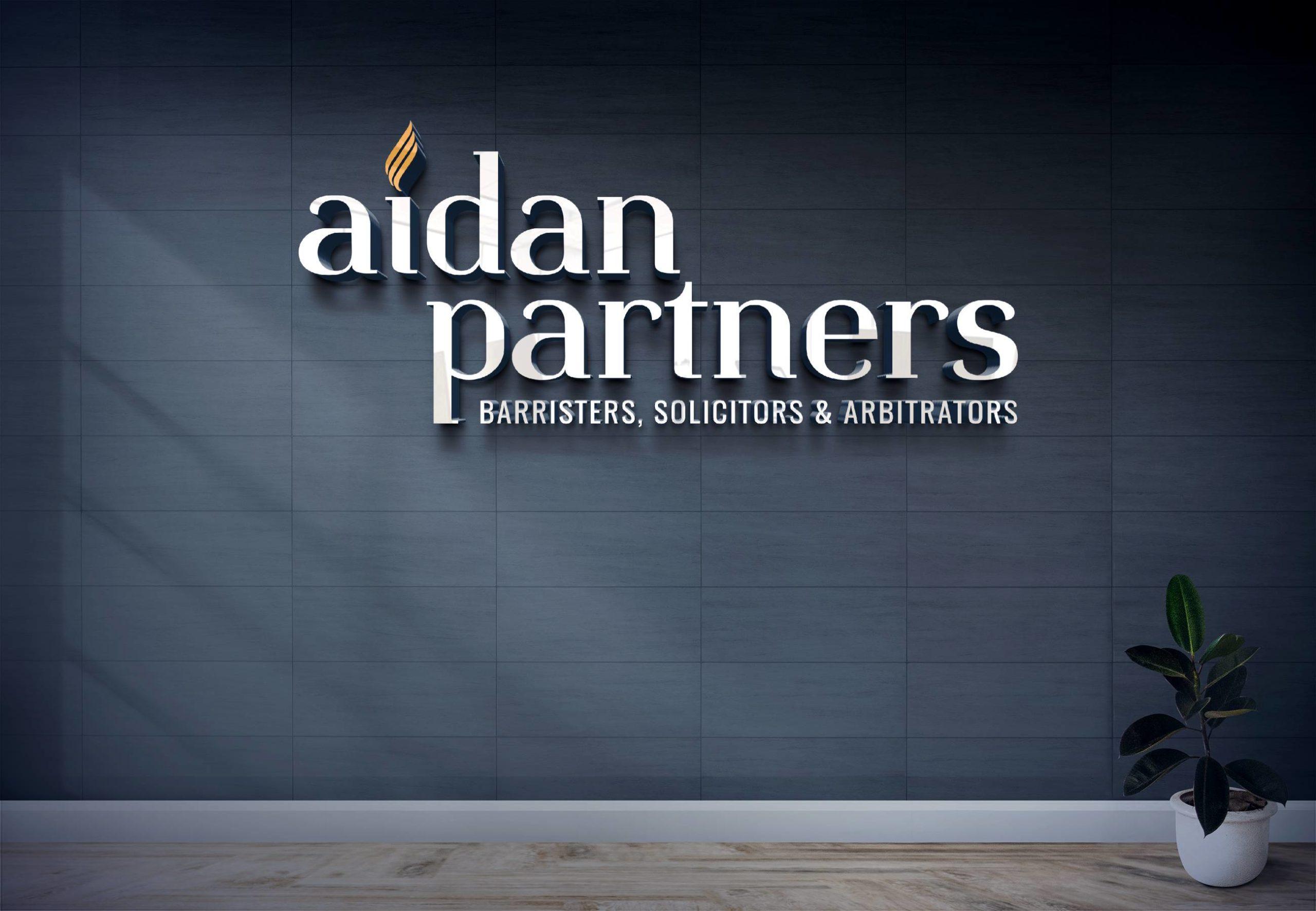 Aidan Partners - Signage